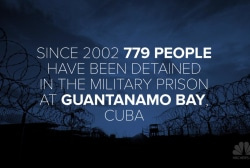 Guantanamo Bay detainees, by the numbers