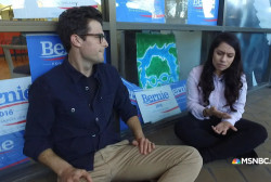 'Dreamer' volunteers for Sanders campaign