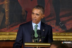 Obama 'dismayed' by 'vulgar rhetoric' on...