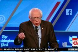 Sanders: 'I am dangerous for Wall Street'