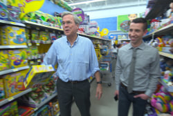 Holiday shopping with GOP candidate Jeb Bush
