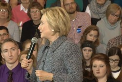Clinton: 'Important to stand up to bullies'