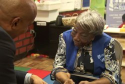 106 year-old woman on meeting the Obamas