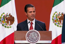 Nieto on the arrest of 'El Chapo'