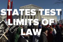 How do states tiptoe around Roe v. Wade?