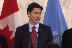 Trudeau: Canada ready for UN Security Council