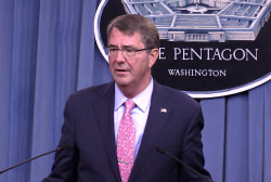 Ash Carter: I take the Russians at their word