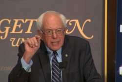 Sanders on wealthy paying 'fair share of...