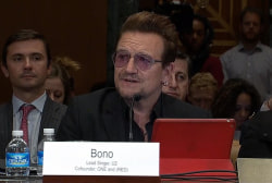 Bono: 'Sometimes hope needs a little help'