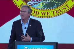 Bush talks taxes, government reform in Ohio