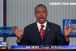 Carson touts 'life and death' decision making