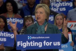 Clinton: 'Time for America to lead, not...