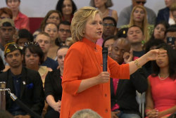 Clinton: US has 'too many people in jail'