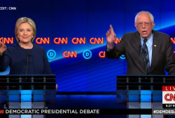 Clinton, Sanders spar over job creation