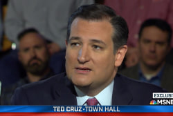 Highlights from Ted Cruz's MSNBC town hall