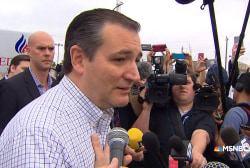 Cruz: Sharp differences between the...
