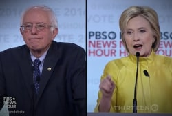 Moments from Dem Debate (in 3 minutes)