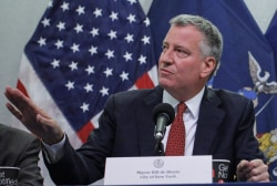 NYC Mayor: Ebola not from casual contact
