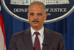 Holder on Ferguson no-fly zone, transparency