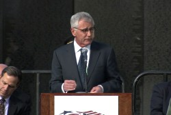 Hagel thanks America's 'quiet heroes'