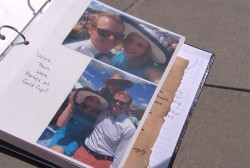 Boyfriend pays tribute to slain journalist