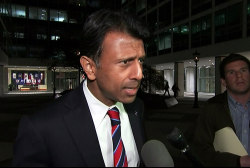 Jindal discusses suspending 2016 campaign