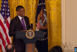 Kevin Johnson plays Pres. Obama's sports...