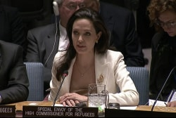 Angelina Jolie attacks UN's inaction on Syria