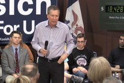 John Kasich: 'Have you ever been on a diet?'