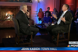 Highlights from John Kasich's town hall