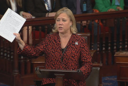 Mary Landrieu takes big credit for...