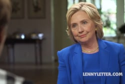 Hillary Clinton defends millennials in...