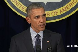 President Obama on progress against ISIS