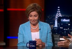 Colbert to Pelosi: Is Boehner's tan uniform?