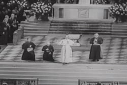 Pope Paul VI visits St. Patrick's Cathedral