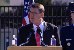 Ashton Carter: 'We will never forget'