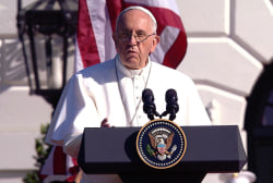 Pope Francis's first U.S. speech
