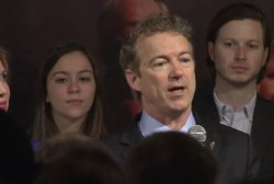Full speech: Rand Paul on caucus night in IA