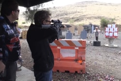 Rand Paul shoots off AR-15s