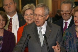Harry Reid: Women have changed the Senate