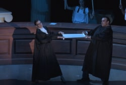 Opera pays tribute to Scalia, Ginsburg...