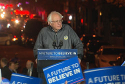 Sanders slams Clinton's Wall Street donations