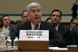 Gov. Snyder: 'We all failed the families...