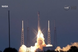 Liftoff! SpaceX rocket launch a success