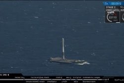 SpaceX makes historic drone ship landing
