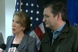 Fiorina on Trump: He is a serial philanderer