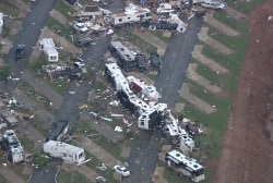 Tornado rips through RV park