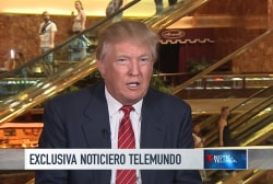 Trump: 'I love the Mexican people'