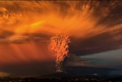 Watch: Incredible time-lapse of Calbuco...
