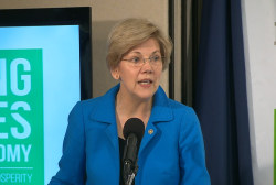 Warren: Gov't shouldn't be captive to rich